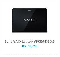 Sony VAIO Laptop VPCEA43EG:B